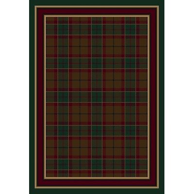 Signature Magee Tartan Emerald Rug Rug Size: 3'10