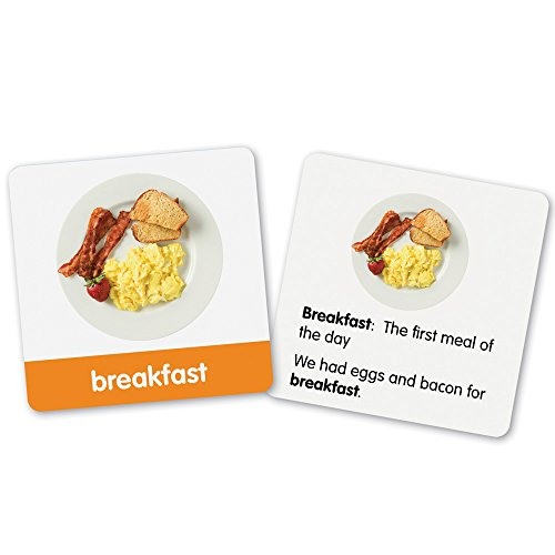- Learning Resources First Grade Vocabulary Photo Cards