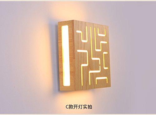 Avanthika e industriale retro lampada da parete applique da