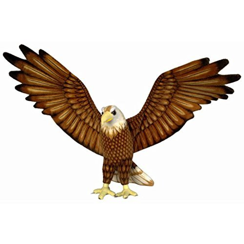 jesonn-realistic-giant-soft-plush-toys-stuffed-animals-eagle-brown-for-kids-gifts37-or-94cm1pc-by-je