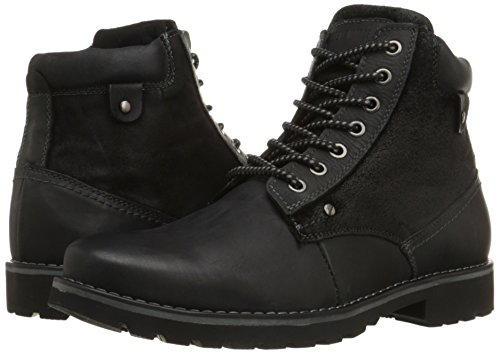 Steve Madden Men's Canterr Winter Boot, Black, 9.5 M US
