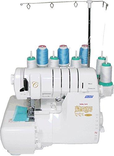 babylock Cover Stitch Serger Machine Wave Over Lock 8-thread