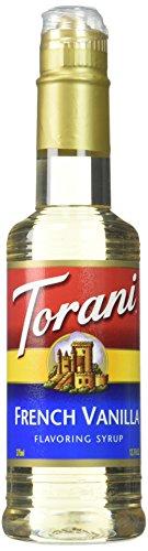 Torani French Vanilla Syrup 12.7 Fl Oz (Pack of 1)