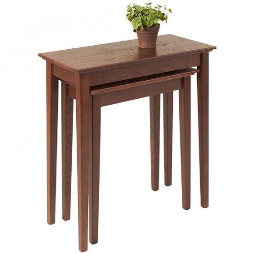 Manchester Wood Nesting Shaker Tables Set of 2 -