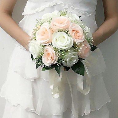 Bouquet Sposa Rotondo.Funan Bouquet Sposa Tondo Rose Bouquet Matrimonio Partito