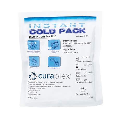 CURAPLEX Cold Pack - Small - 5in X 5in 1/EA by Curaplex (Image #1)