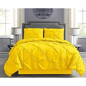 Amazon Com Empire Home Pintuck Hypoallergenic 8 Piece Bed