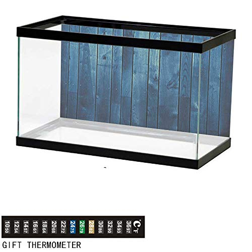 Jinguizi Dark Bluefish Tank BackdropWooden Planks Texture for sale  Delivered anywhere in USA