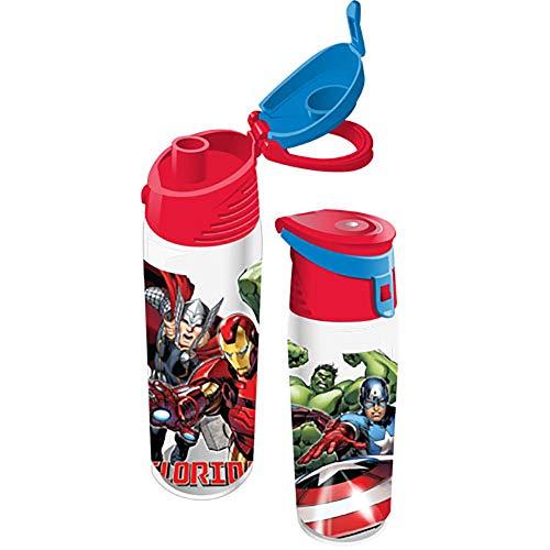 Marvel Avengers Florida Namedrop Pop Out Water Bottle, 9 Inch (Thor Baby Bottles)