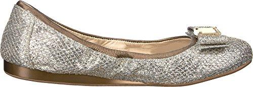 Colo Haan Donna Tali Arco Balletto Piatto Oro / Argento Glitter