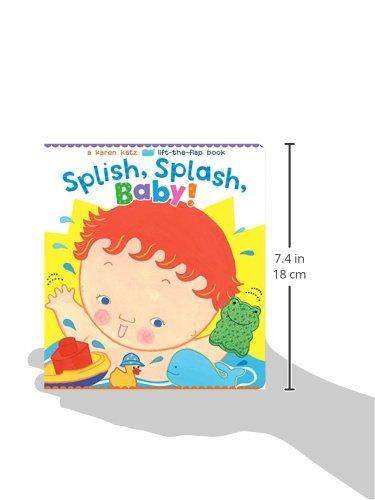 Splish splash baby karen katz lift the flap books karen katz splish splash baby karen katz lift the flap books karen katz 9781481417891 amazon books fandeluxe Images