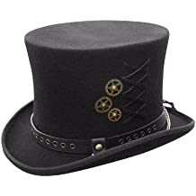 Conner Hats, Australian Wool Steam-Punk Top Hat