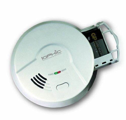 Universal Security Instruments MDS300 Universal Smoke Sensing (IoPhic) Battery-Operated Smoke and Fire Alarm by Universal Security Instruments by Universal Security Instruments