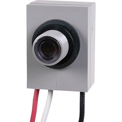 Internal Mount Photo Control - 208-277 Volt - 3,100-4,150 Watt Tungsten - 1,700-2,300 Watt VA Ballasted - 15 Amps Tungsten - 8.3 Amps Ballasted Temperature Range -40¡ã To 150¡ãF