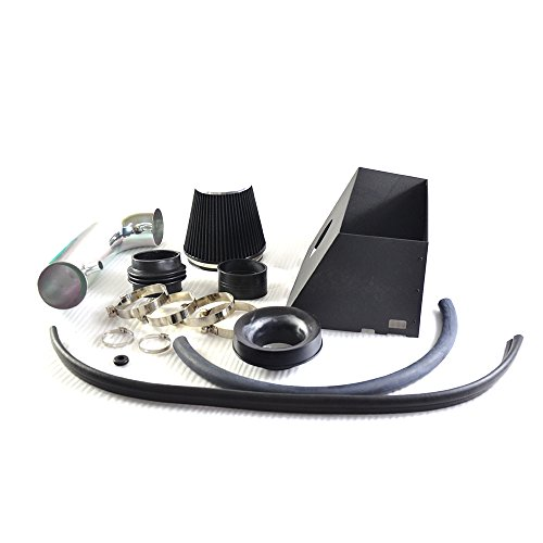 Performance Cold Air Intake Kit With Filter For 2009 2010 Dodge Ram 1500/2500 & 2009 Dodge Ram 3500   2011 2012 2013 2014 Ram 1500/2500 & 2011 Ram 3500 5.7L V8(Black)