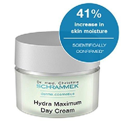Dr. Christine Schrammek Hydra Maximum Day Cream -50 Ml. Daily Source of Moisture for Highest Demands