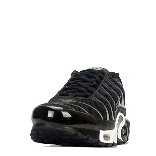 Nike Men's Air Max Plus TXT Running Shoes Black/Black Cool Grey uHBtRG