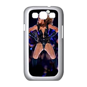 Hjqi - Customized Beyonce Phone Case, Beyonce Custom Case for Samsung Galaxy S3 I9300