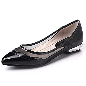 zhENfu Mocasines de mujeres &Amp; Slip-Ons Club Primavera Verano Zapatos Zapatos formales Gladiator