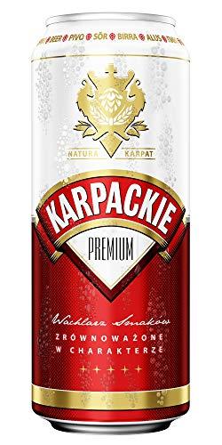 Karpackie Premium Lager 24x500ml 5.0%