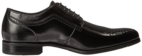 Stacy Adams Heren Somerton Plain-teen Lace-up Oxford Zwart