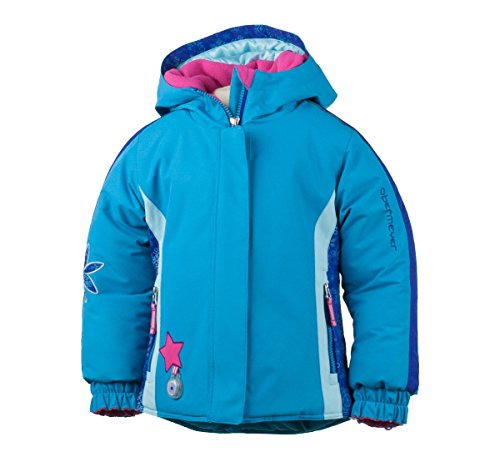 Obermeyer Kids Girl's Pico Jacket (Toddler/Little Kids/Big Kids) Bluebird Outerwear 4T Toddler by Obermeyer