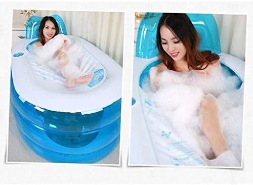 XLEVE インフレータブルバスタブ、ポータブル折りたたみバスタブ、プールホーム浴室インフレータブルシャワープール