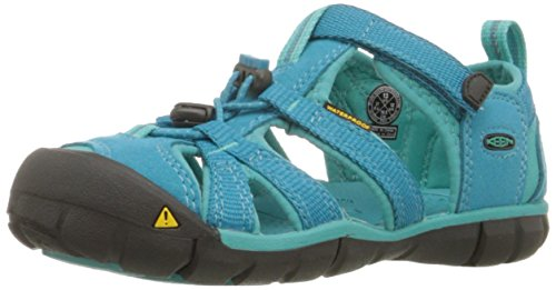 KEEN Seacamp II CNX Sandal (Toddler/Little Kid/Big Kid), BALTIC/CARIBBEAN SEA, 9 M US Little Kid