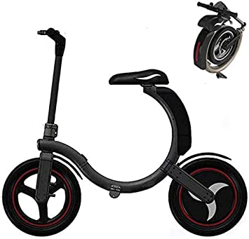 14 Pulgadas Bicicleta Eléctrica Urbana, 350W 30km/h Ebike ...