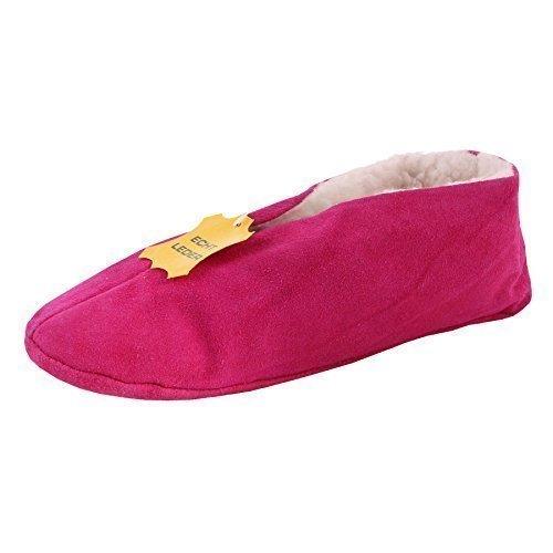 Zapatilla/Zapatillas / Mocasines Cuero Auténtico Mujeres Hombres Niños - Fucsia, 37: Amazon.es: Zapatos y complementos