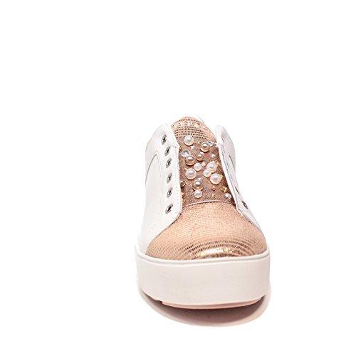 Bianco 35 Apepazza rosa Pazza Ape Donna Sneakers 41 RSW05 x0FqPw