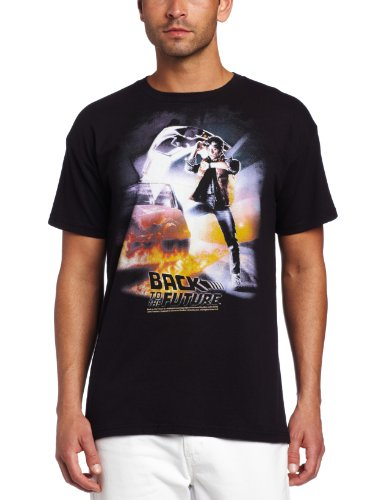 American Classics Mens Back To The Future Poster T-Shirt