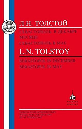 Tolstoy: Sebastopol in May and Sebastopol in December (Russian Texts)
