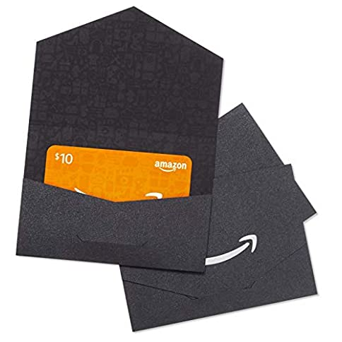 amazon.com $10 gift cards - pack of 3 black and silver mini envelopes - 41IEE4t1K2L - Amazon.com $10 Gift Cards – Pack of 3 Black and Silver Mini Envelopes