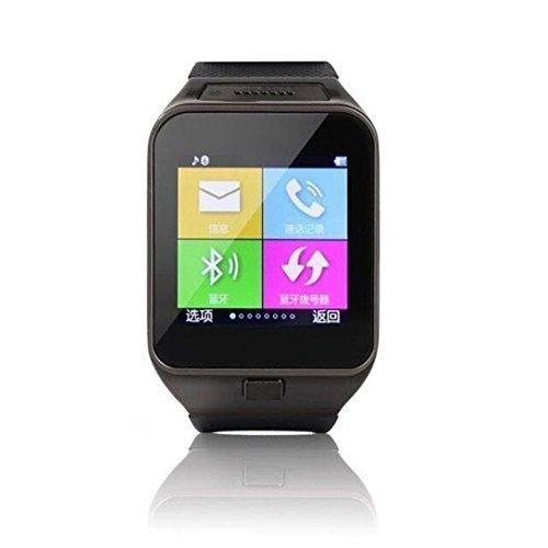 Las mujeres de los hombres de Bluetooth Smart Lacaca reloj de 1,3 m TF