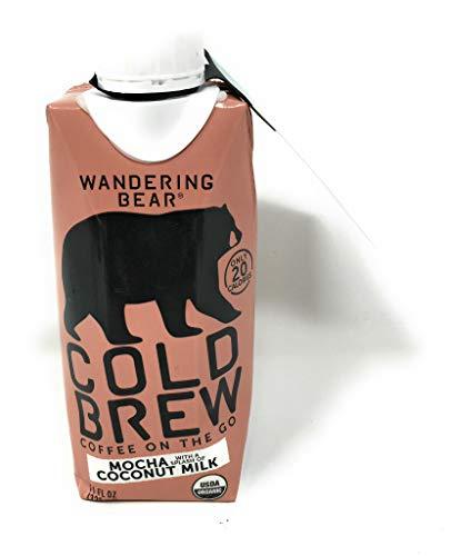 Wandering Bear Coffee, Coffee Mocha Coconut Milk Organic, 11 Fl Oz