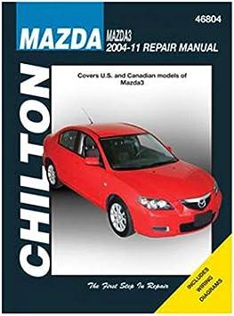 Amazon Com Chilton Repair Manual Chi46804 For Mazda 3 04 11 Automotive