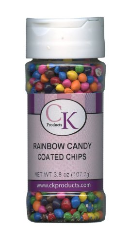 :   CK Products Rainbow Candy Coated Chips, 3.8 Ounce Bo...