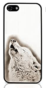 Wolf Animal Hard Case for For iphone 5/5s Special Design