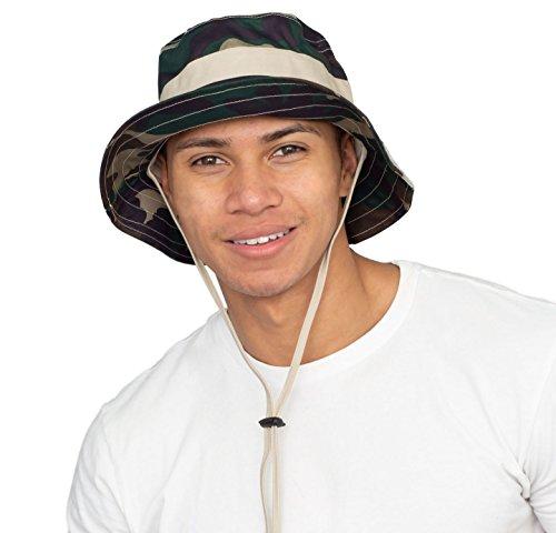 Costume Agent Adult Golf Camo Outdoor Hunting Bucket Hat