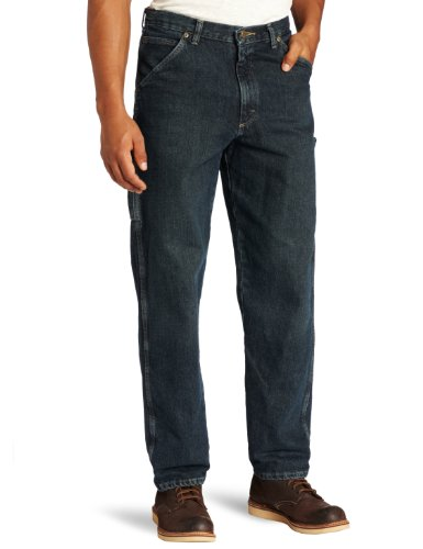 - Wrangler Men's Rugged Wear Carpenter Jean, Dark Quartz, 32x32