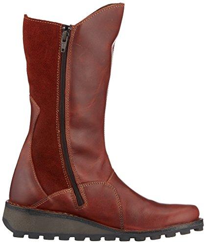London Chukka Fly Boots Brick Rouge Femme Mes 088 dqq7xOwU