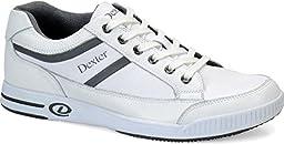 Dexter Keegan Bowling Shoes, White, 11.0