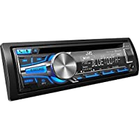 JVC CD Receiver KD-SR80BT: Bluetooth, iHeart Radio, Pandora, made for iPod, iPhone