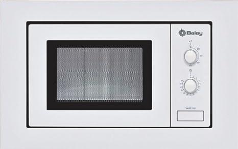Balay 3WMB1918 - Microondas, 800 W, 17 L, color blanco: Amazon.es ...