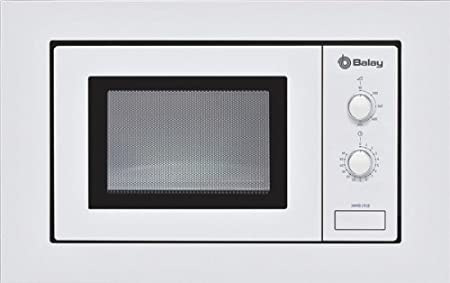 Balay 3WMB1918 - Microondas, 800 W, 17 L, color blanco