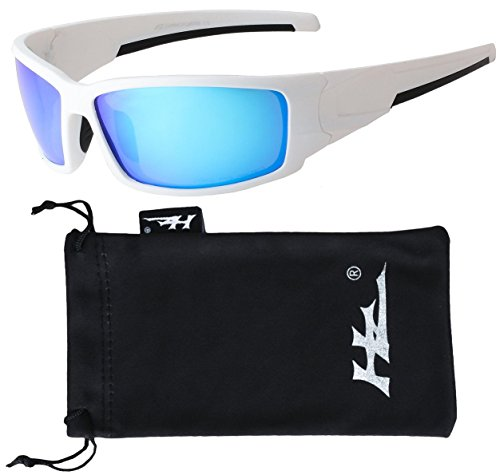 HZ Series Aquabull - Premium Polarized Sunglasses by Hornz Ice Blue Mirror - And Sunglasses Affordable Cheap
