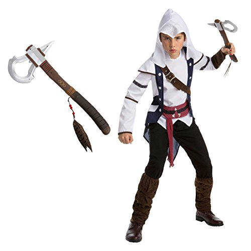 Assassin's Creed: Connor Teen Costume Bundle Kit - -