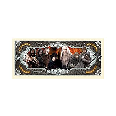 American Art Classics Lord of The Rings Million Dollar Bills - Pack of 5 - Best Gift for Fans of This Classic Movie Series: Toys & Games