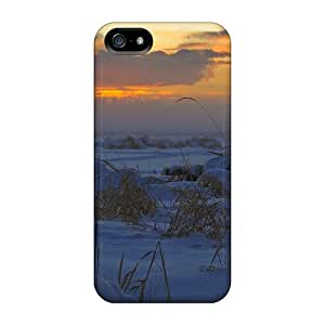 Ideal MeSusges Case Cover For Iphone 5/5s(beautiful Winter Lscape), Protective Stylish Case